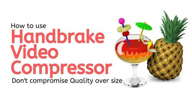 How to compress large Size videos